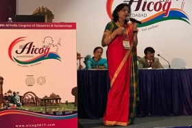 Dr Laxmi Shrikhande Speaker at AICOG
