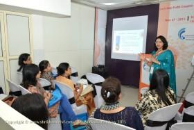 Dr Laxmi Conducting IUI workshop