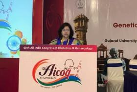 Dr Laxmi Shrikhande at AICOG