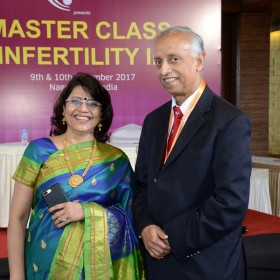 Dr Laxmi Shrikhande wth Dr Arulkumaran Sabaratnam