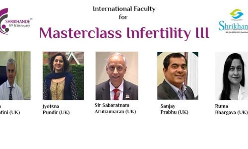 Faculty for Masterclass Infertility III