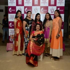 Dr Laxmi Shrikhande with friends at Masterclass Infertility III on 10th Dec 2017