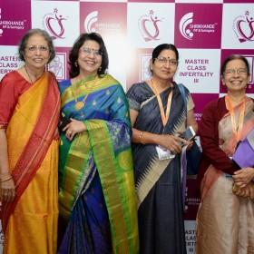 Dr Laxmi Shrikhande with some Friends at Masterclass Infertility III