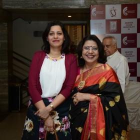Dr Jyotsna Pundir and Dr Laxmi Shrikhande at Masterclass infertility III on 10th Dec 2017