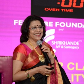 Dr Laxmi Shrikhande presenting at Masterclass Infertility III on 10th Dec 2017