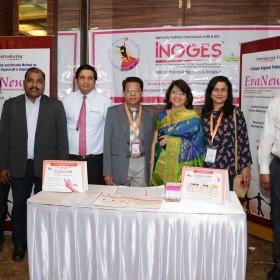 Dr Laxmi Shrikhande, Dr Anil Shrikhande and Dr Ruma Bhargava with Medical Reps at Masterclass Infertility III